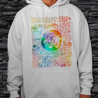 "5SOS Seconds of Summer Galaxy Unisex Hoodie {Size Print 12""x14""}"