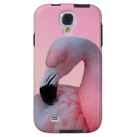 Pink Flamingo Samsung Galaxy S4 Case