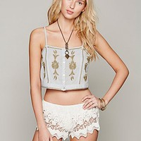 Free People Crochet Shorts