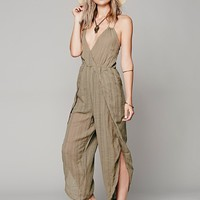 Free People Womens Aria One Piece - Army,