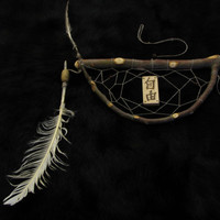 "Exceptional, Oriental styled dream catcher ""Freedom"""