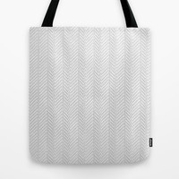 Herringbone DIY Tote Bag by Project M