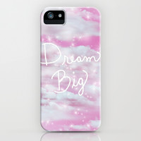 Dream Big in Pink iPhone & iPod Case by Lisa Argyropoulos