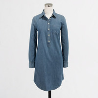 Factory chambray shirtdress - Shift Dresses - FactoryWomen's Dresses - J.Crew Factory