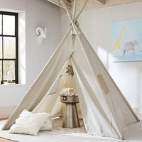 Gray Mini Dot Teepee