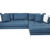 Walden Sectional, Navy