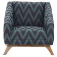 Anna Chair, Navy/Indigo