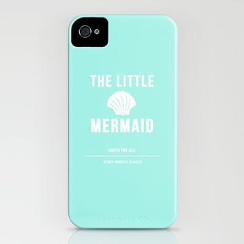 Disney Princesses: The Little Mermaid Minimalist iPhone Case by Ofalexandra | Society6