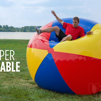 9-Foot Beach Ball: Gigantic blow-up beach ball.