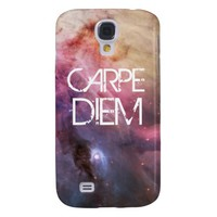 Carpe diem nebula stars galaxy hipster geek space