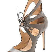 Peep Toe Mariposa Sandals