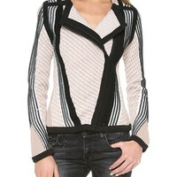 Reverse Stripe Jacket