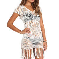 Cleobella Daisy Dress in Ivory from REVOLVEclothing.com