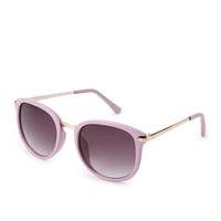 F8378 Retro Round Sunglasses
