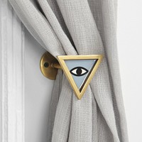 Magical Thinking Triangle-Eye Curtain Tie-Back - Urban Outfitters