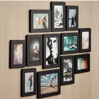 12pcs Sandwich Photo Frame Set