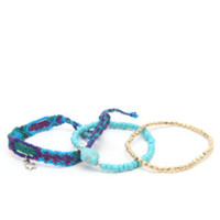 With Love From CA Multi Friendship Bracelet at PacSun.com