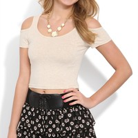 Triple Tiered Black Daisy Print Skirt with Belted Waist
