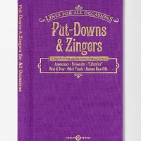 Lines for All Occasions: Put-Downs And Zingers By Knock Knock - Urban Outfitters