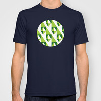 Geometric Pattern 2-Green T-shirt by mollykd
