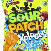 Jaret Sour Patch Xploderz, 6.5000-Ounces (Pack Of 12)