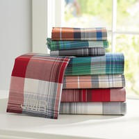 Field House Plaid Sheet Set