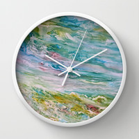 Reflections Wall Clock by Rosie Brown
