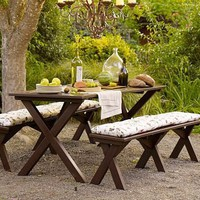 Chesapeake Picnic Table &amp; Set | Pottery Barn