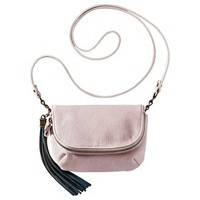 Mossimo Supply Co. Crossbody Handbag with Blue Tassle - Pink