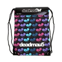 Deadmau5 Mouse Logo Dubstep Techno DJ Back Sack Bag
