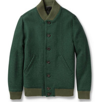 Richard James - Quilted Harris Tweed Bomber Jacket | MR PORTER