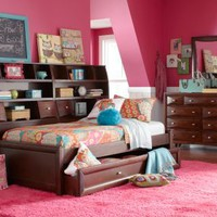Ivy League 5 Pc Full Bookcase Daybed