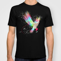 I Carry Your Heart With Me (Neon Wings Series I) T-shirt by soaring anchor designs ⚓