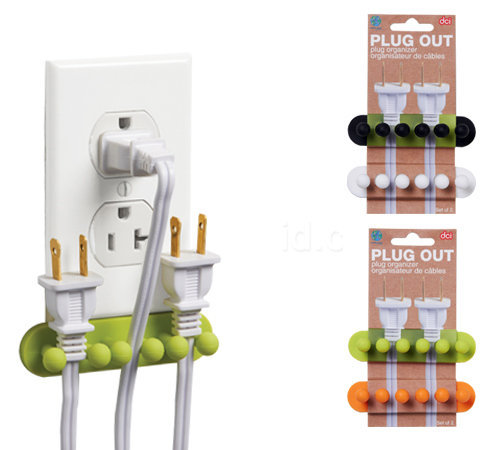 PLUG OUT- PLUG ORGANIZERS