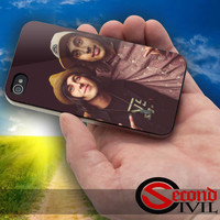 Pierce The Veil and Sleeping With Sirens - iPhone 4/4S, 5/5S, 5C - Samsung Galaxy S3, S4 for Rubber and Hard Plastic Case