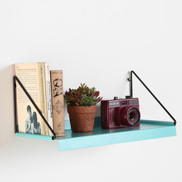 Metal Shelf in Blue - Urban Outfitters