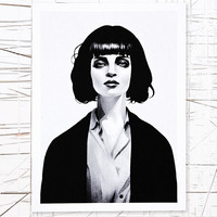 Ohh Deer Mrs Mia Wallace Wall Art - Urban Outfitters