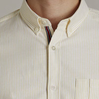 The Rutledge Yellow Stripe Shirt