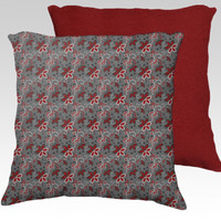 Floral Endeavors by Texnotropio (18x18 pillow)