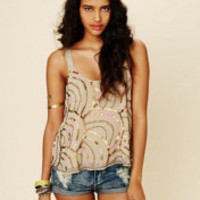 Free People Sequin Cami at Free People Clothing Boutique