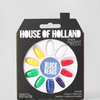 House Of Holland X Elegant Touch Block Heads Faux Nail Set - Urban Outfitters