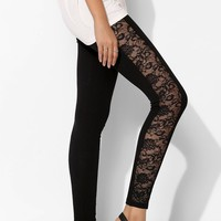 Sparkle & Fade Lace Panel Legging - Urban Outfitters