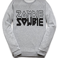 Heathered Zombie Sweatshirt