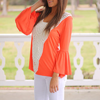 California Dreaming Top, Orange