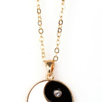 Yin To My Yang Necklace | Bloody-Fabulous