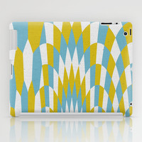 Honey Arches Yellow iPad Case by Project M
