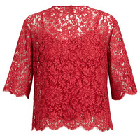 DOLCE & GABBANA | Floral Lace Top | Browns fashion & designer clothes & clothing