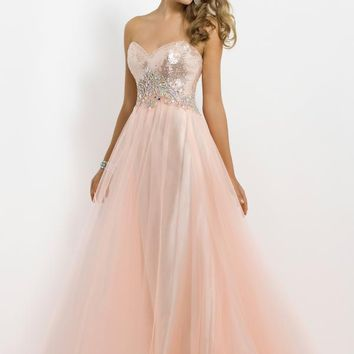 Blush 9757 at Prom Dress Shop