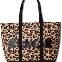 FUCT STORE | 037 LEOPARD CANVAS TOTE BAG