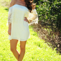 Just A Dream Dress: Cream | Hope's